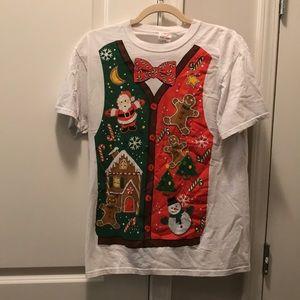 Excellent condition Christmas vest T-shirt
